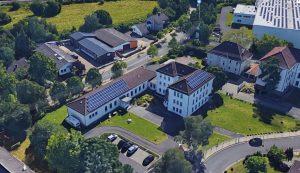 Unser Schulgebäude in Niederzwehren